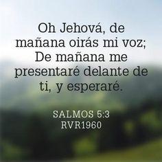 Salmos 5:3