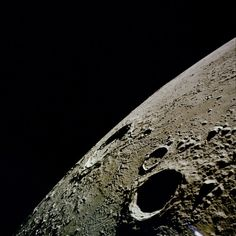 """humanoidhistory: """" The Copernicus crater on the Moon, photographed from lunar orbit during the Apollo 12 mission, November (NASA) """" Sistema Solar, Cosmos, Craters On The Moon, Planets And Moons, Space And Astronomy, Space Program, Our Solar System, Deep Space, Space Travel"""