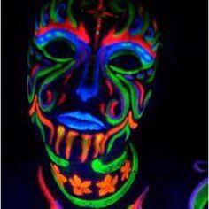 body paint Fluorecent