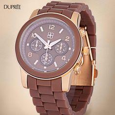 Un detalle que deslumbra. Incluye en tu look un reloj de moda Michael Kors Watch, Watches, Accessories, Fashion, New Trends, Clock, Wrist Watches, Moda, Wristwatches