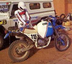 Rally Raid, Cars And Motorcycles, Motorbikes, Offroad, Elf, Racing, Vehicles, Classic, Wisdom Quotes
