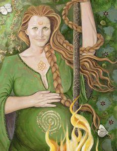 Filhos da Chama: Deusa Brigit: Seus símbolos e Objetos Sagrados