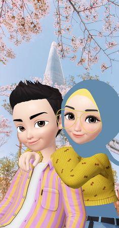 Love Cartoon Couple, Cute Love Cartoons, Anime Love Couple, Cute Cartoon Wallpapers, Cartoon Pics, Cartoon Art, Cute Girl Drawing, Cute Drawings, Deviantart Drawings