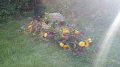 Rouwarrangement bijenkorf