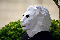 Make Your Own Lion Mask.  Lion Mask  Lion Costume  by PlainPapyrus