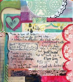 Junk Journal - just start writing and see where the thoughts go