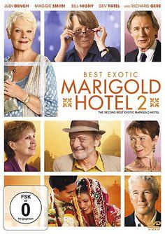 Wieder einchecken ins Best Exotic Marigold Hotel und sich auf eine herzerwärmende Fortsetzung mit Starbesetzung freuen! #hotel #comedy #film #weltbild