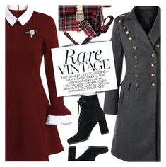 """Vintage Style"" by pokadoll ❤ liked on Polyvore featuring Carshoe and vintage"