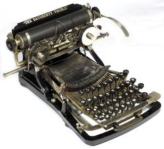 Daugherty typewriter - 1893, www.antiquetypewriters.com, via Flickr.