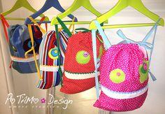 Sacchette asilo Buddo #monster #ibuddidimatilde #bags
