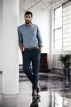 Smart Casual Look - What should be considered in the dress code? Dresscode Business, Trajes Business Casual, Summer Business Attire, Business Outfits, Men Business Casual, Men's Business Fashion, Mens Business Professional, Casual Dresscode, Business Chic