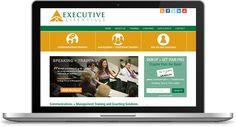 Executive Essentials Website | Custom Design + Development: http://www.executiveessentials.org