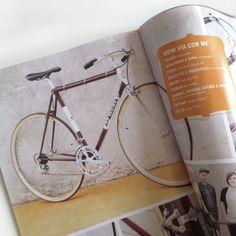 "Ciclografica è su ""Biciclette d'epoca"" con la nuova bici vintage! #bike #bicycle #bicicleta #velo #magazine #bicidepoca #grafica #graphics"