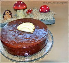 Mit Zucker, Salz & Bauchgefühl: Marmorierter Schoko-Birne-Zimt Kuchen
