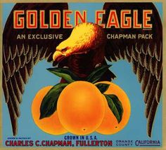 Golden Eagle Oranges, c. s (1930)