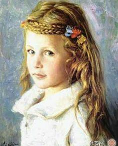 Portrait Of Caucasian Girl