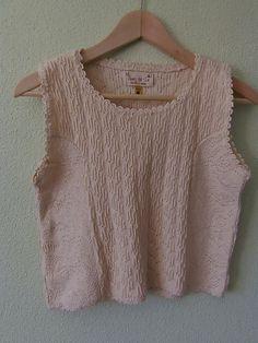 Temporada : Otoño blusa crochet vintage, blusa tejida a crochet