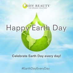 Happy Earth Day! Extra special thanks to our eco-influencers for their passion for the planet and to all of you for your efforts to make ‪#‎EarthDayEveryDay‬! http://www.juicebeauty.com/earth-day-countdown/