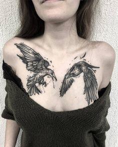 Kévin Plane's black sketch tattoo Dope Tattoos, Tattoos Motive, Creepy Tattoos, Unique Tattoos, Beautiful Tattoos, Black Tattoos, Body Art Tattoos, Tattoo Girls, Tattoo Designs For Girls