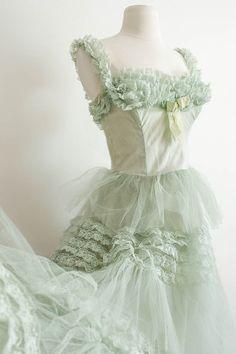 Fairytale Dress ~ Mint Green