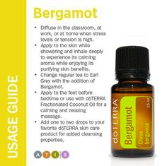 Website has detailed information about each of the single doTERRA EO's.