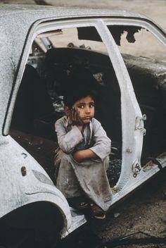 Shepherd boy at Al Ahmadi Kuwait in 1991, from the blog of Steve McCurry