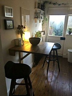 Image Result For Wall Mounted Dining Table Camping Kitchen Unit Cozy Coffee Banquette