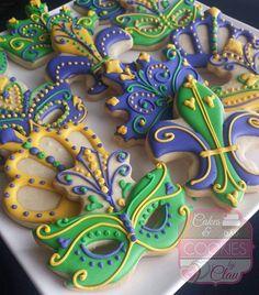#mardigrascookies