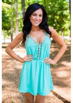 All I Want Dress Mint Summer- - Enter code SORRYIPRTY For 10% off everything on TheFlauntShop.com !
