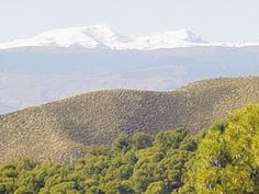 view of the Sierra Nevada from Castala in Almería province, Andalucía, Spain  ***text & photo by Robert Bovington   http://bovingtonphotosofspain.blogspot.com.es/