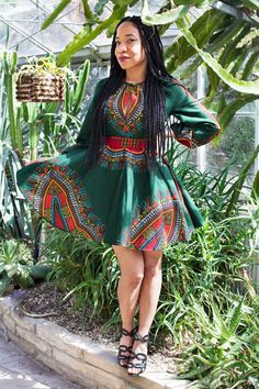 Hey, I found this really awesome Etsy listing at https://www.etsy.com/listing/236105648/the-zhara-dashiki-dress-in-forest-green