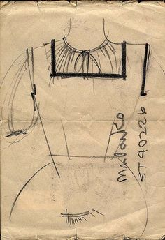 Sketch by Ray Eames: The Work of Charles and Ray Eames: A Legacy of Invention   Exhibitions - Library of Congress