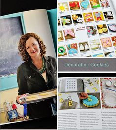 Decorating Cookies by Bridget Edwards (giveaway)