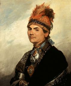 Mohawk Indian Chiefs | Mohawk War Chief Thayendanegea (Joseph Brant)