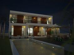 4 Bedroom Villa, Spain - Concept Design & Visual