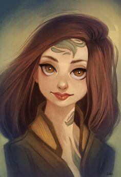 Illustrations & Characters by Sabrina Miramon, via Behance