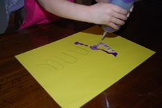 10 sensory filled ways to learn letters...and notes from child expert on why flash cards are a waste of time!!