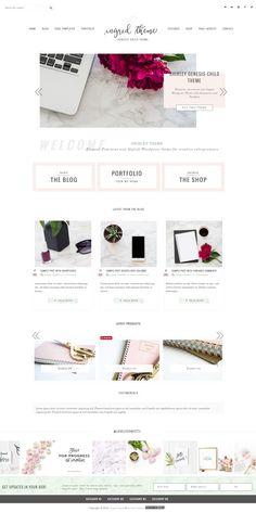Introducing Ingrid portfolio and eCommerce Genesis Child Theme