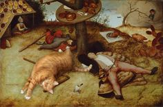 This Chubby Cat Is Invading Famous Paintings And Making Art History A Whole Lot Cuter