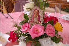 Virgencita Plis Baptism Party Ideas | Photo 8 of 44 | Catch My Party