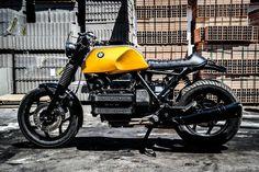ϟ Hell Kustom ϟ: BMW K100 By Dragoni Moto