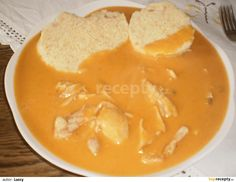 kuře na paprice Czech Recipes, Ethnic Recipes, What To Cook, No Cook Meals, Thai Red Curry, Foodies, Food And Drink, Treats, Chicken