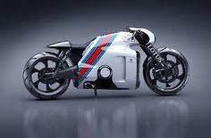 'Tron' designer creates a real-world superbike