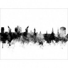 NEW YORK CITYSCAPE GLOSSY WALL ART POSTER PRINT A1 - A5 SIZES AVAILABLE