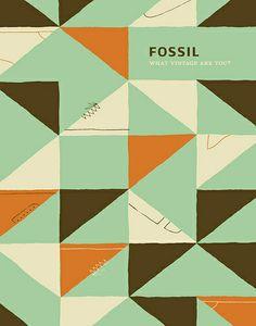 Fossil Footwear Poster