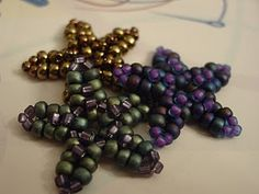 Tutorial for starfish #seed #bead #tutorial