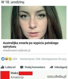 Wiocha pl XDD Hahaha Hahaha, Polish Memes, Weekend Humor, Really Funny Pictures, Best Memes Ever, Funny Mems, I Cant Even, Wtf Funny, Good Mood