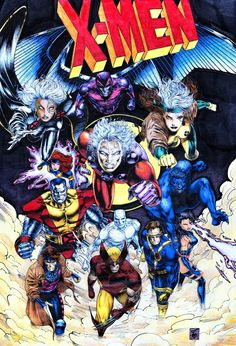 X-Men by Travis Charest