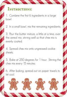 Christmas Chex Mix Recipe - My Joy-Filled Life Christmas Food Gifts, Christmas Dishes, Christmas Cooking, Christmas Desserts, Christmas Goodies, Christmas Crackers, Christmas Drinks, Christmas Candy, Christmas Stuff