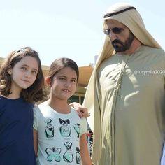 Jalilah bint Ali bin Al Hussein, Al Jalila bint Mohammed bin Rashid Al Maktoum y Mohammed bin Rashid bin Saeed Al Maktoum, 19/02/2016. Foto: lucymila2020